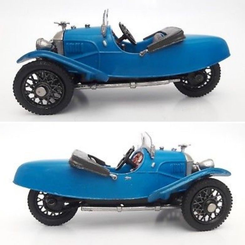 1:43 Scale 1928 Morgan Aero In Pewter. This Model Is A