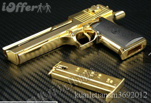 Gold Plated 50 Cal Desert Eagle For Sale | Cause they don't make a