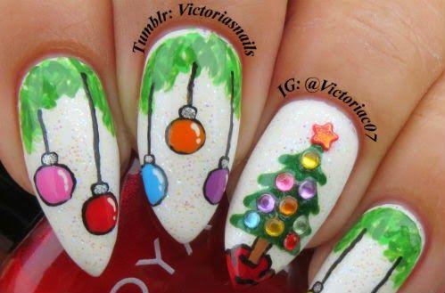 Decoracion Unas Navidad Christmas Nail Designs In 2018 - Decoracion-uas-navidad