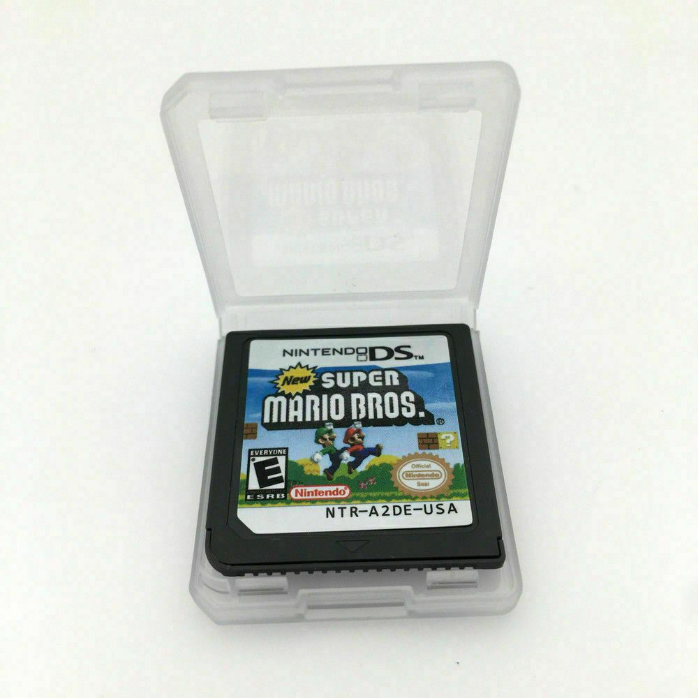 New Nintendo Super Mario Bros Game Card For 3ds Dsi Nds Ndsl Lite Us Version Games Ideas Of Games Game Super Mario Bros Games Super Mario Bros Mario Bros