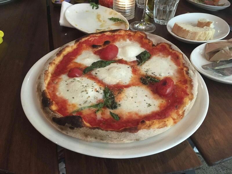 Pizza Caprese im riva schwabing in München. Lust Restaurants zu testen und Bewirtungskosten zurück erstatten lassen? https://www.testando.de/so-funktionierts