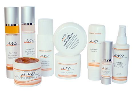 And Pumpkin Line Skin Care Clinic Professional Skin Care Products Medical Esthetician