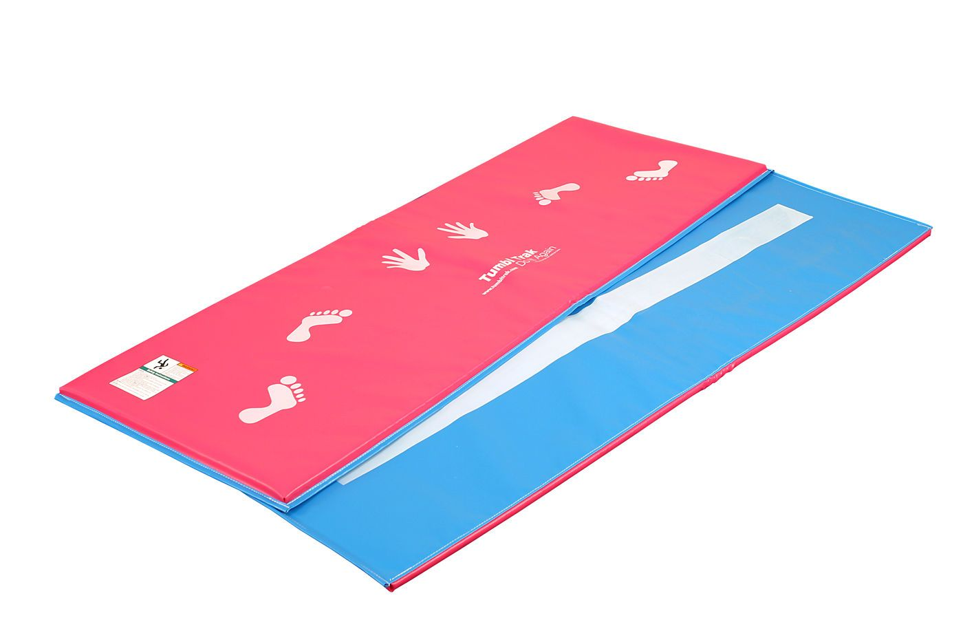 air blue gymnastics floor amazon outdoors dp track sports uyl cheer inflatable gym tumbling home com mat mats for