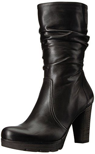 14efdfa889a Paul Green Women's Kyle Fashion Boot, Black Leather | Boots and ...