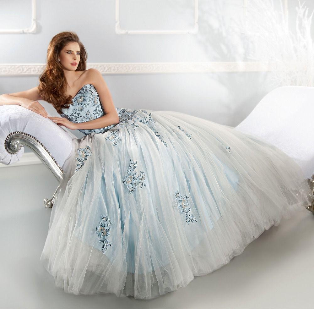 Romanticdesignsweetheartembroiderylaceappliqueslightblue