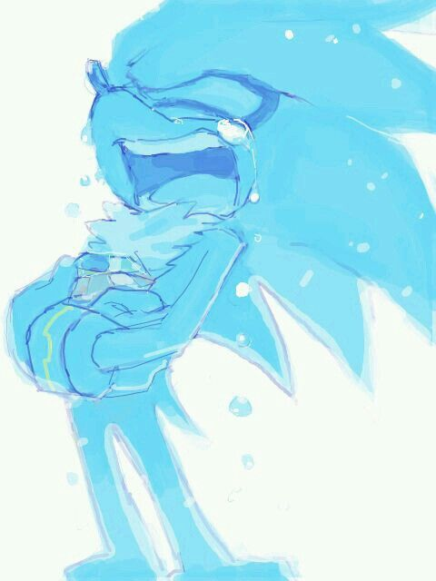 Silver :'( I bet it was because of Blaze his only friend...