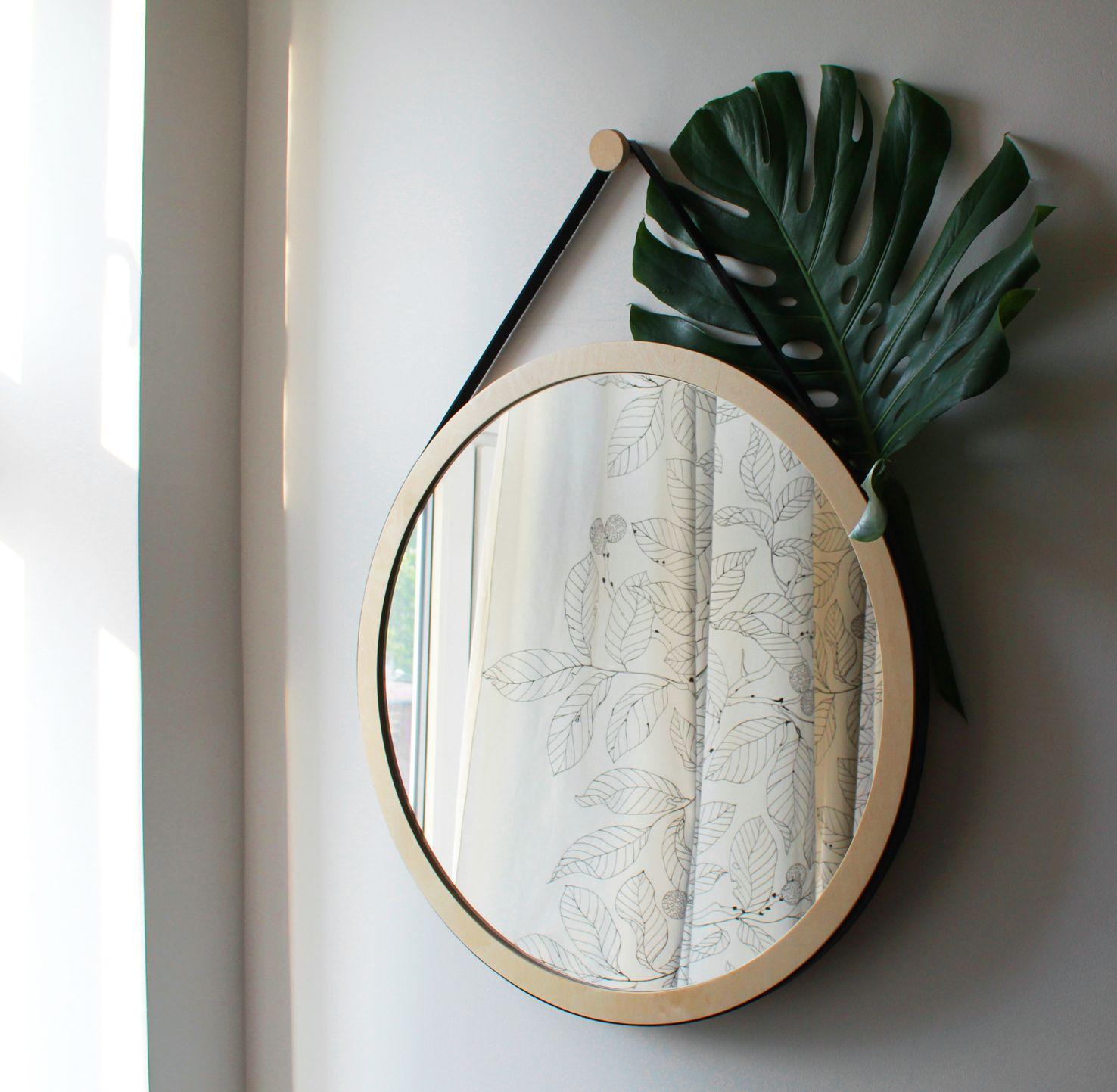 Woodoo People Lustro Na Pasku No 2 Ladnerzeczy Targirzeczyladnych Ladnerzeczydziejasiewinternecie Polishdesign Design Mirror Table Mirror Decor Mirror