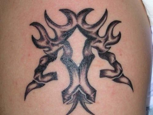camo browning tattoo | Free Download Camo Browning Symbol Tattoos ...