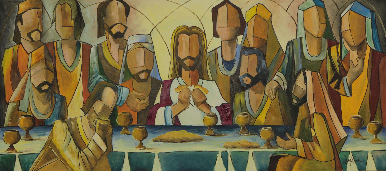 Christ And The Twelve Apostles 2013 Last Supper Last Supper Art Art