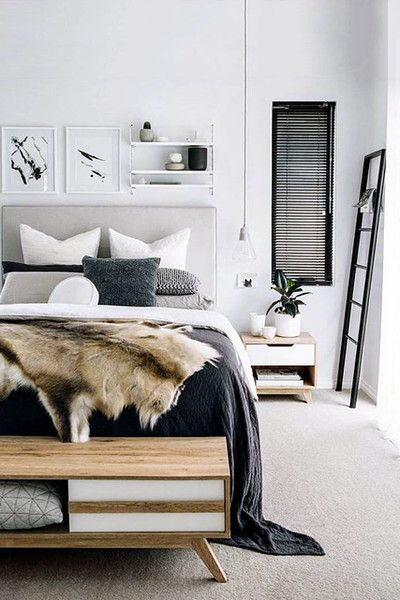 Nice Neutral Decorating Ideas Scandinavian Bedroom Decor Inspiration Carpets For Bedroom Style Interior