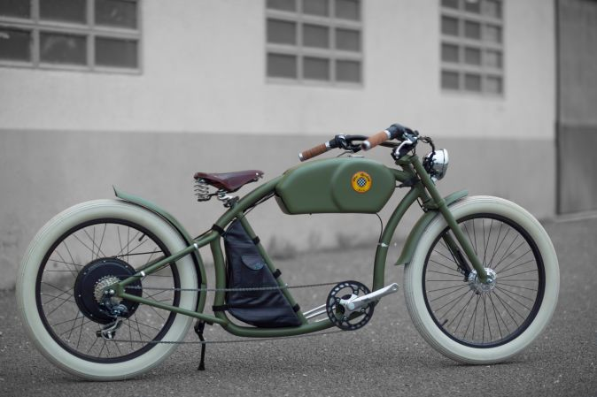 These Stylish Electric Bicycles Are Inspired By Classic Cafe Racers