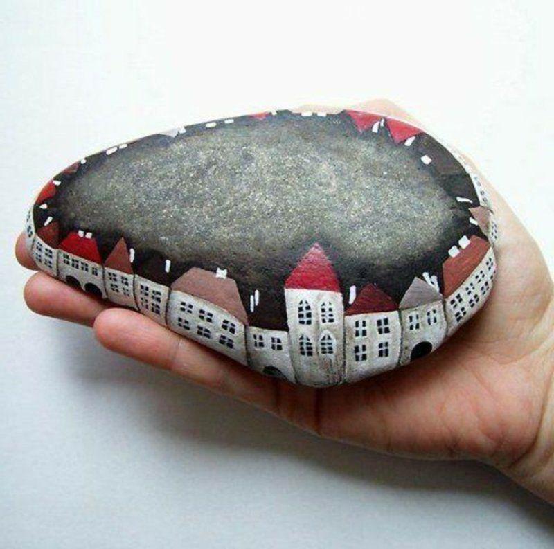 Triff dein neues Hobby: bemalte Steine! – bastelideen, DIY – ZENIDEEN