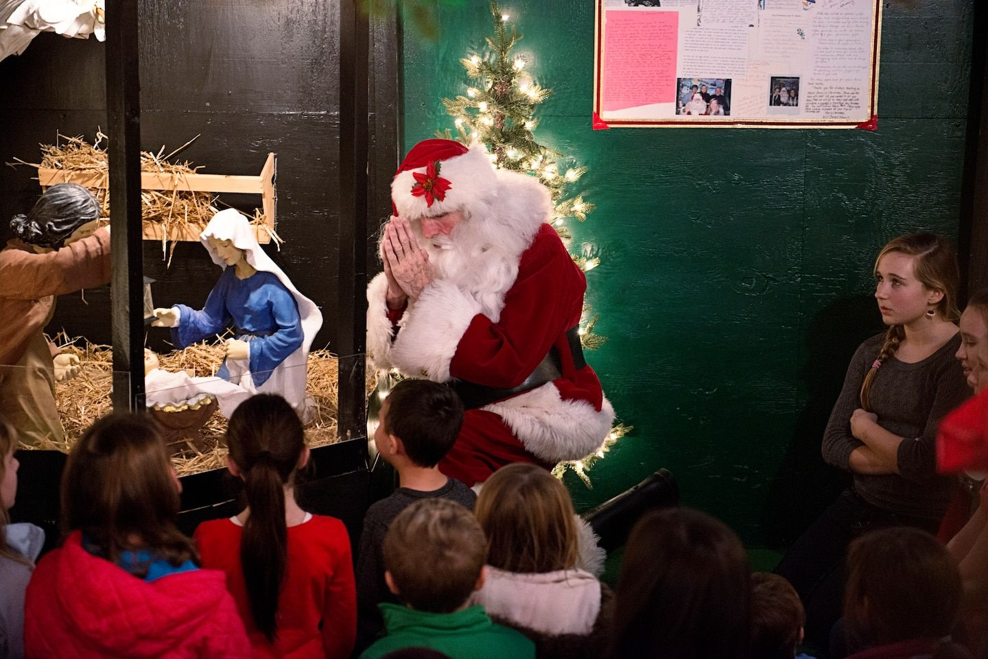 Perspective I met the real Santa Claus. And he has a