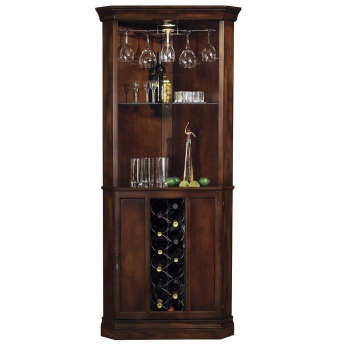 Howard Miller Piedmont Home Bar Liquor Cabinet
