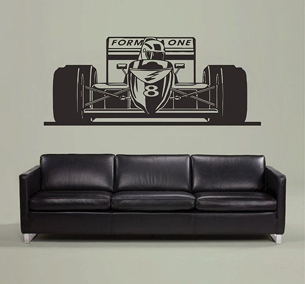 Formula One Wall Decals Sport Car Wall Decals Bolide Wall