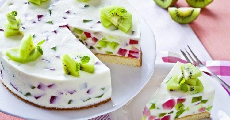 Торт - желе с фруктами - пошаговый рецепт с фото. Автор ...