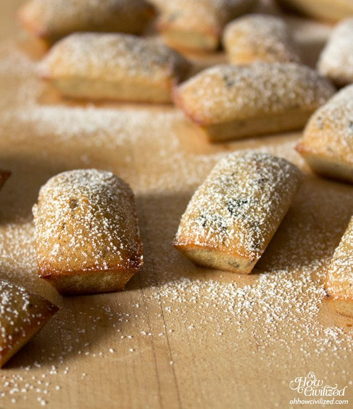 Step-by-Step Recipe: Mini Blueberry & Rooibos Financiers - Home - Oh, How Civilized