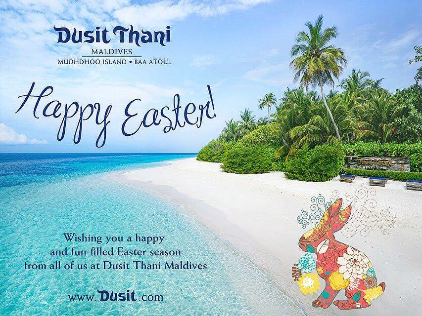 Happy Easter #DusitThaniMV #maldives #dusitjourneys #easter