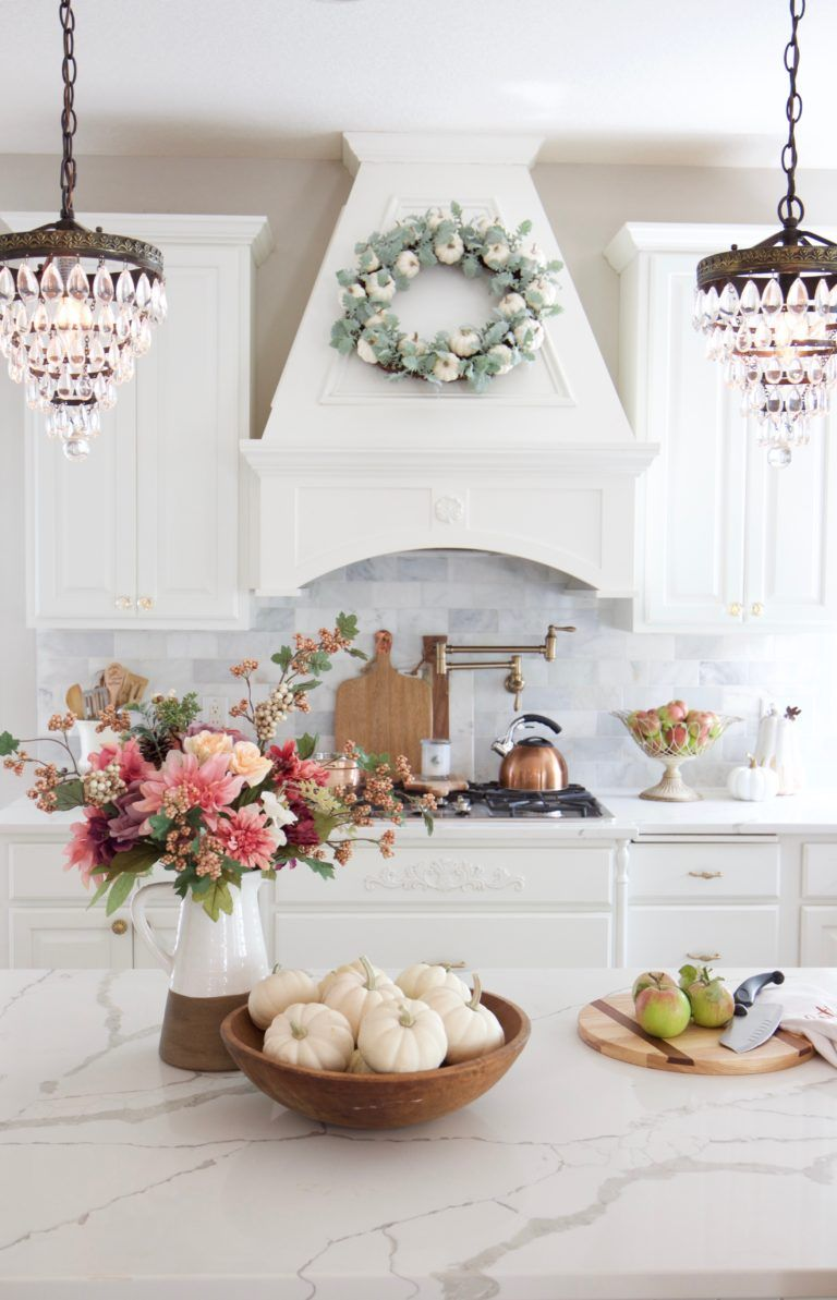 Photo of Fall Home Tour with Touches of Mauve and Copper – Styled With Lace