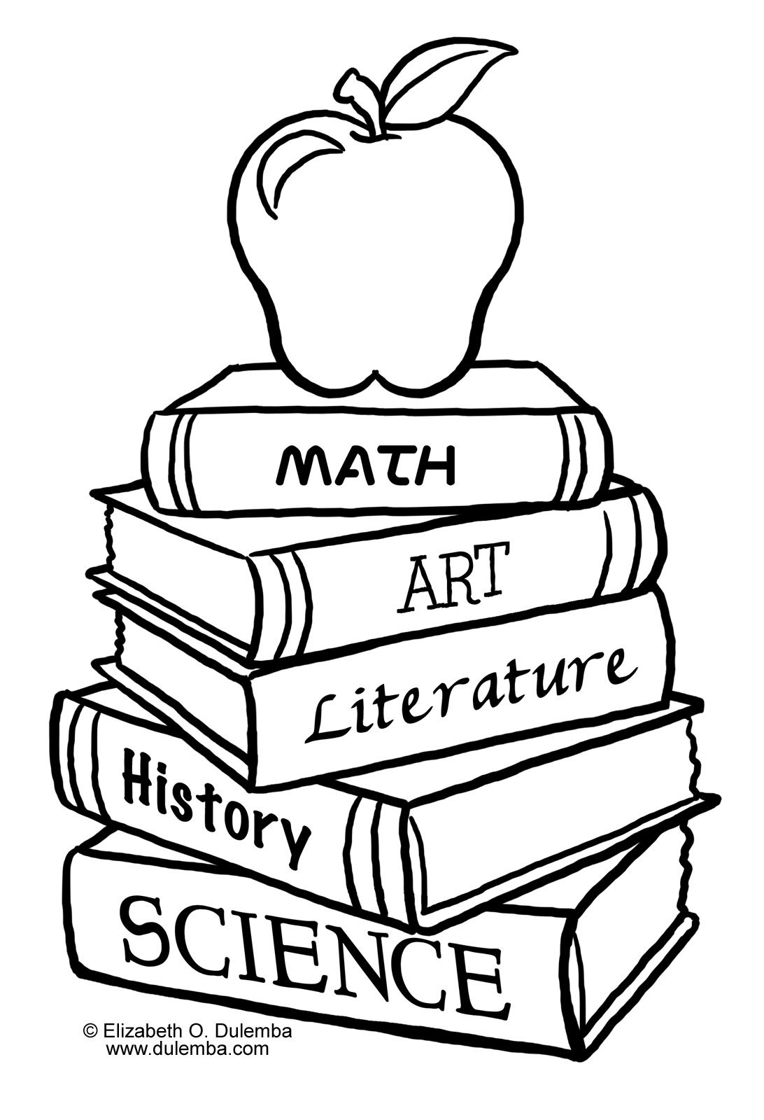 books coloring pages Back to School Coloring Pages | back to school coloring pages book  books coloring pages