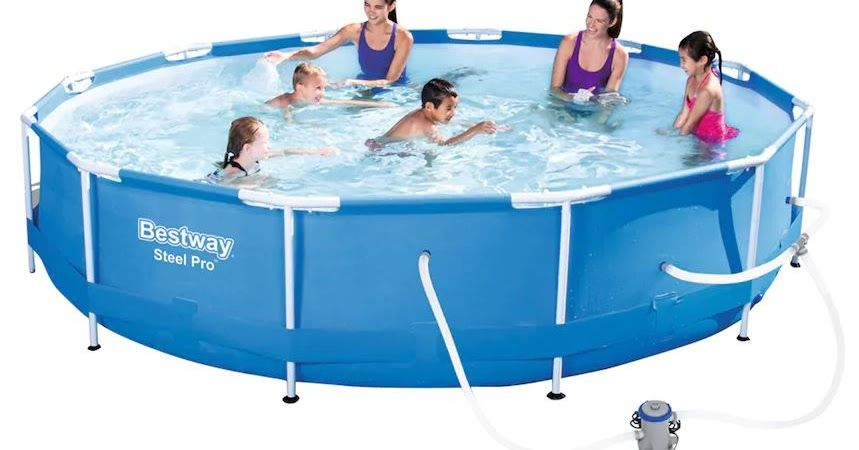 Bestway Steel Pro 12 X 30 Frame Pool 125 99 Retail 249 99 20 Kohl S Cash Diy Swimming Pool Pool Bestway