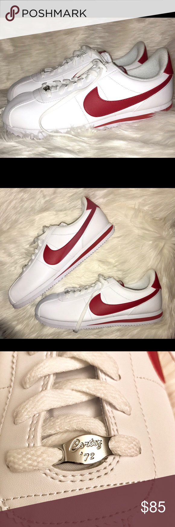 14e3ef089e4b68 New Rare Red Nike Cortez Men s 13 This Nike Cortez (red check AND red  stripe) is rarer than a white whale. They are completely sold out
