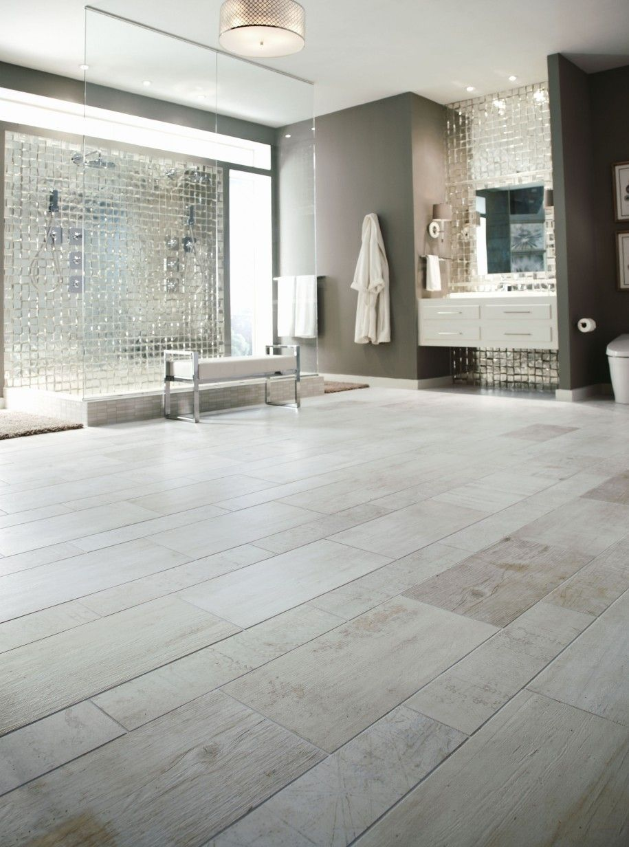 Bath with marvelous and innovative tiles : Bathroom With Large Space ...