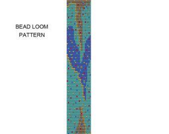 Bead Weaving Bracelet Pattern 48thin Bead Loom от PalacePatterns