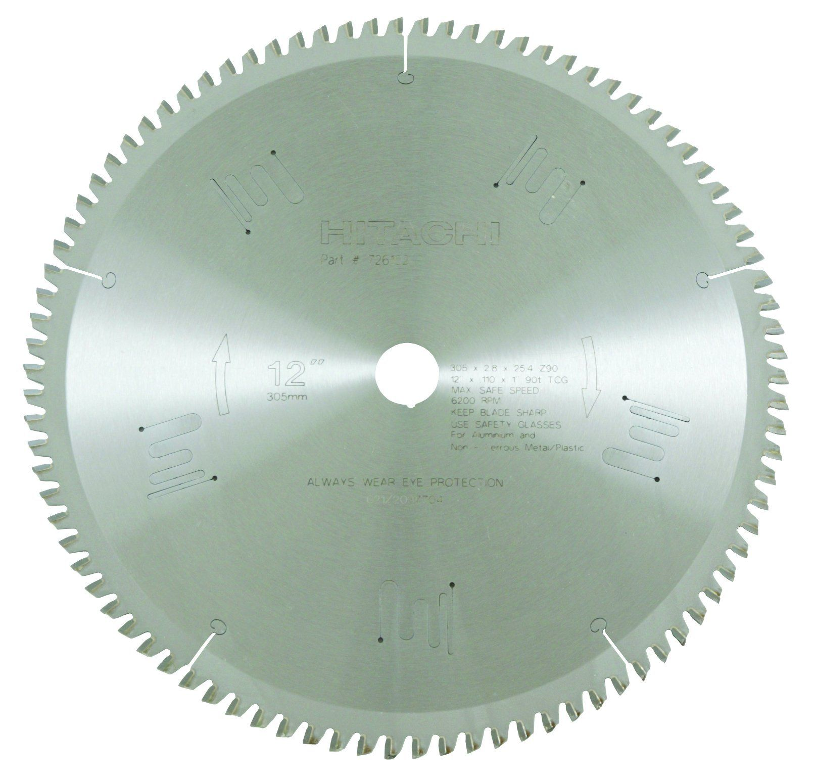 Hitachi 726102 90teeth Tungsten Carbide Tipped 12inch Tcg 1inch Arbor Finish Saw Blade Look Into This Fantastic It With Images Circular Saw Blades Saw Blade Circular Saw