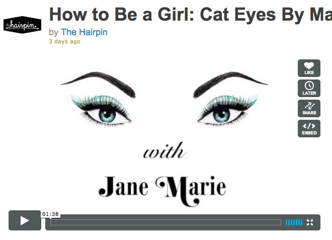 how to create cat eye effect using scotch tape! (link: http://vimeo.com/32063586)