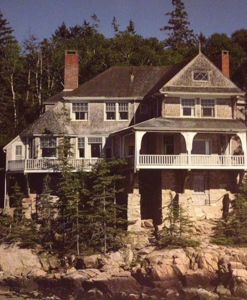 William Ralph Emerson Deer Isle shingle style