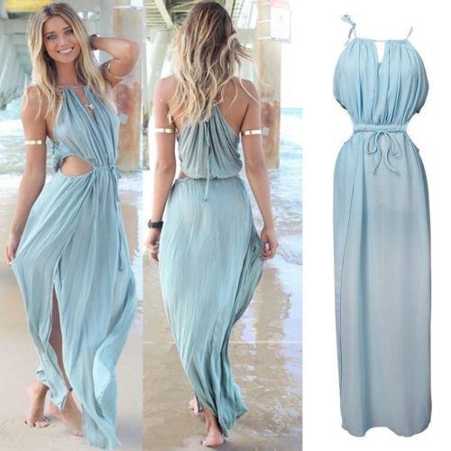 sexy robe boh me robe longue robe robe de plage de bal des On robe maxi mariage plage