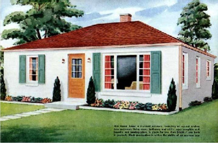 Cinder Block House.