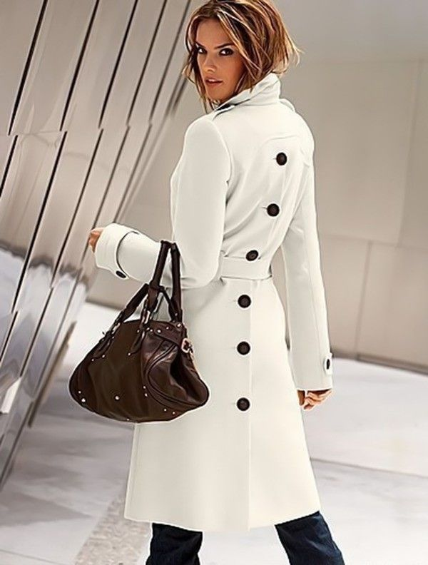 Latest Design Trench Coats | Button button, Trench coats and Wool ...