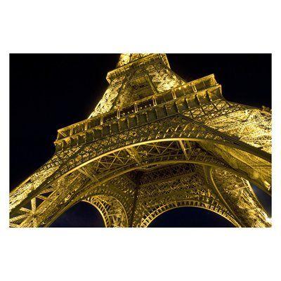 Laila's MES027-10F Eiffel Highlight Canvas Art