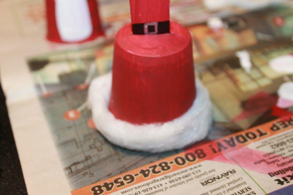 Paper Cup Christmas Bells | Χριστουγεννιάτικες χειροτεχνίες