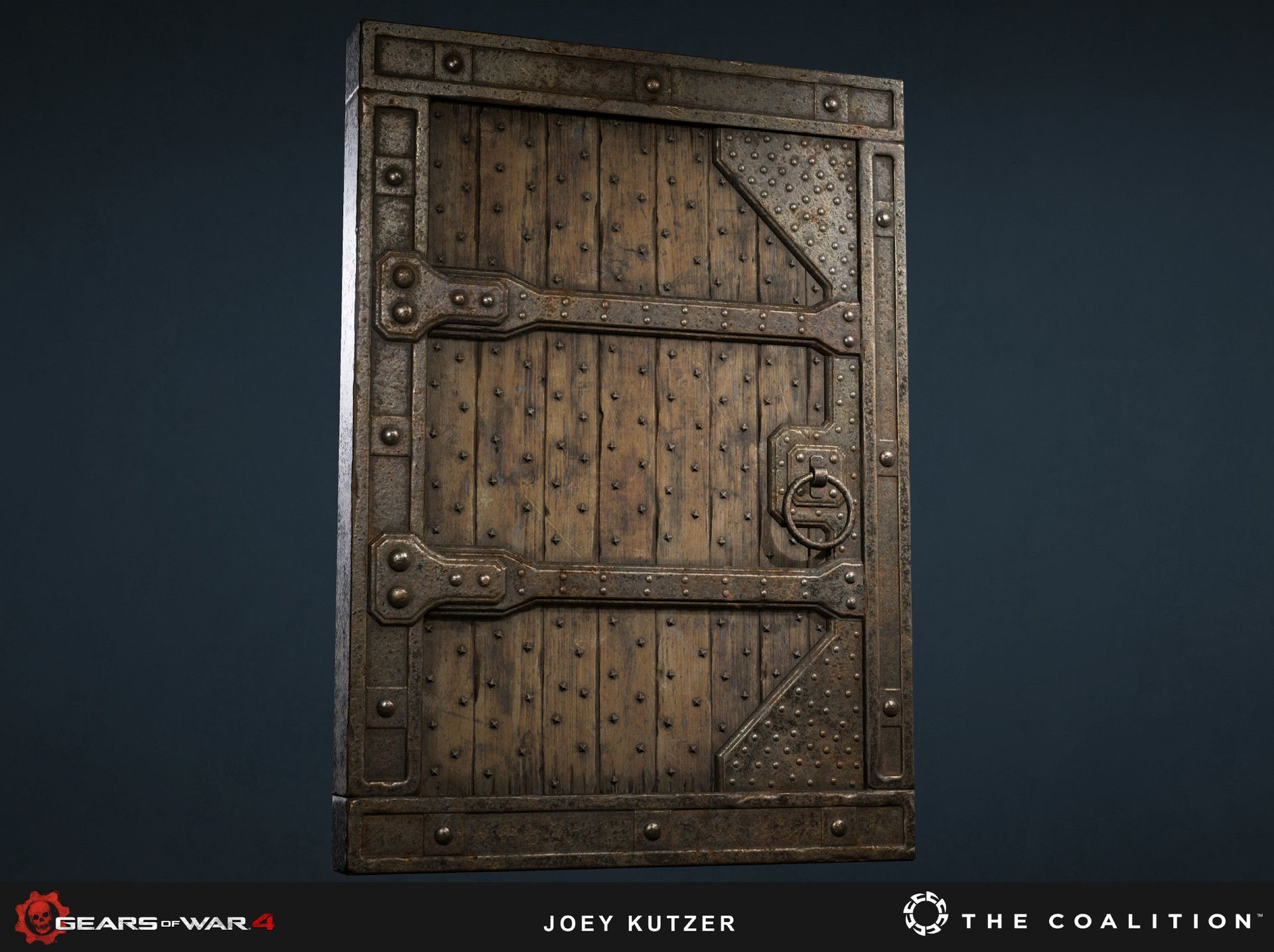 Here are some assets that I created for Gears Of War 4. I did all ...