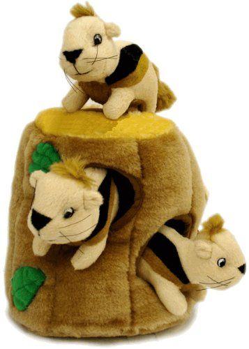 Outward Hound Kyjen 31011 Hide A Squirrel Squeak Toy Dog Toys 4