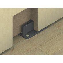 Hafele 940 40 031 Black Hawa Floor Mounted Rattle Free Lower Door Guide For Top Hung Wood Sliding Door In 2020 Hafele Flooring Pivot Doors