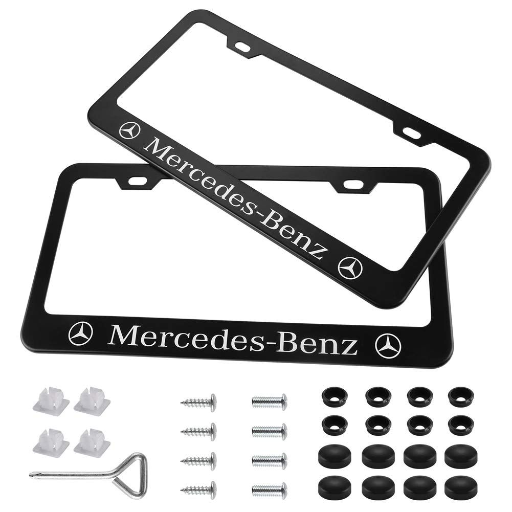 Yuanxi Electronics 2 Pieces Stainless Steel Mercedes-Benz