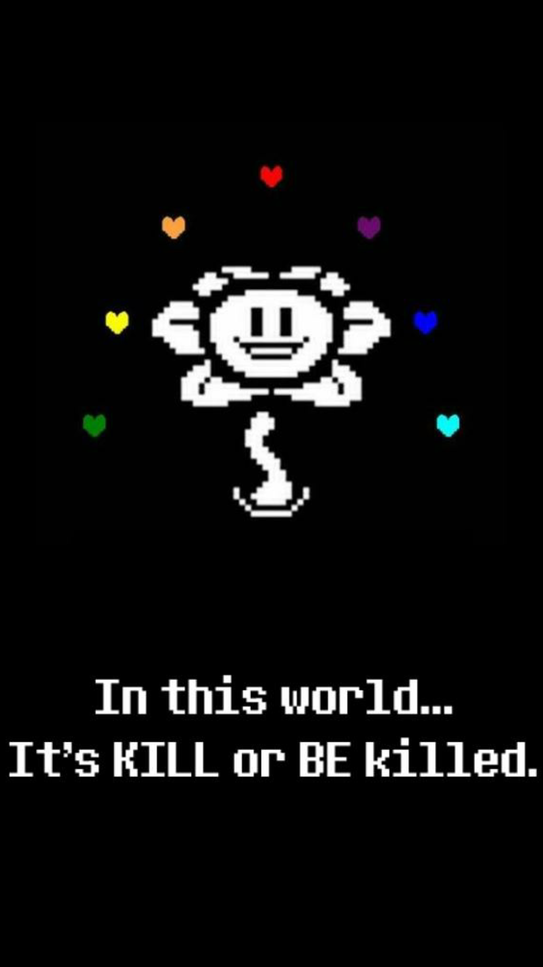 i made an Undertale mobile wallpaper! Undertale quotes