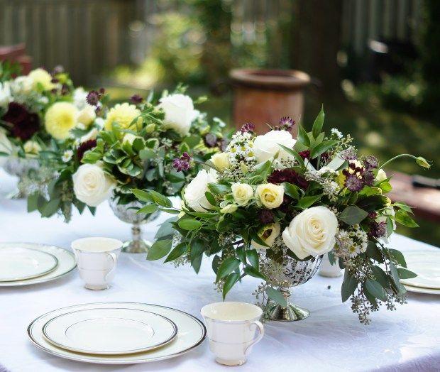 Late Summer Wedding Flowers (www.threadsandblooms.com)   Late ...