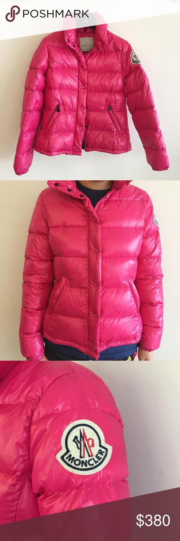 ec7c70f2a Moncler Vintage Claire Hot Pink Jacket Only worn twice Moncler ...