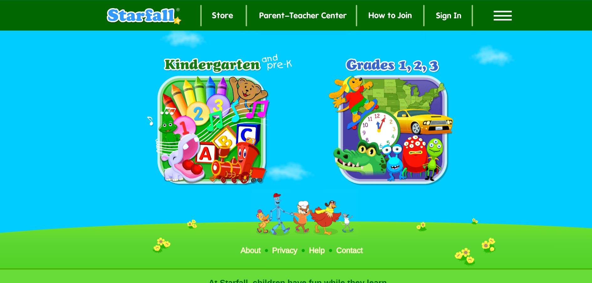 This Website Provides Prek 1st Grade Phonics Based