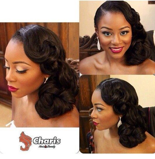 Pinterest Glamorae1 Black Wedding Hairstyles Hair Styles Bride Hairstyles