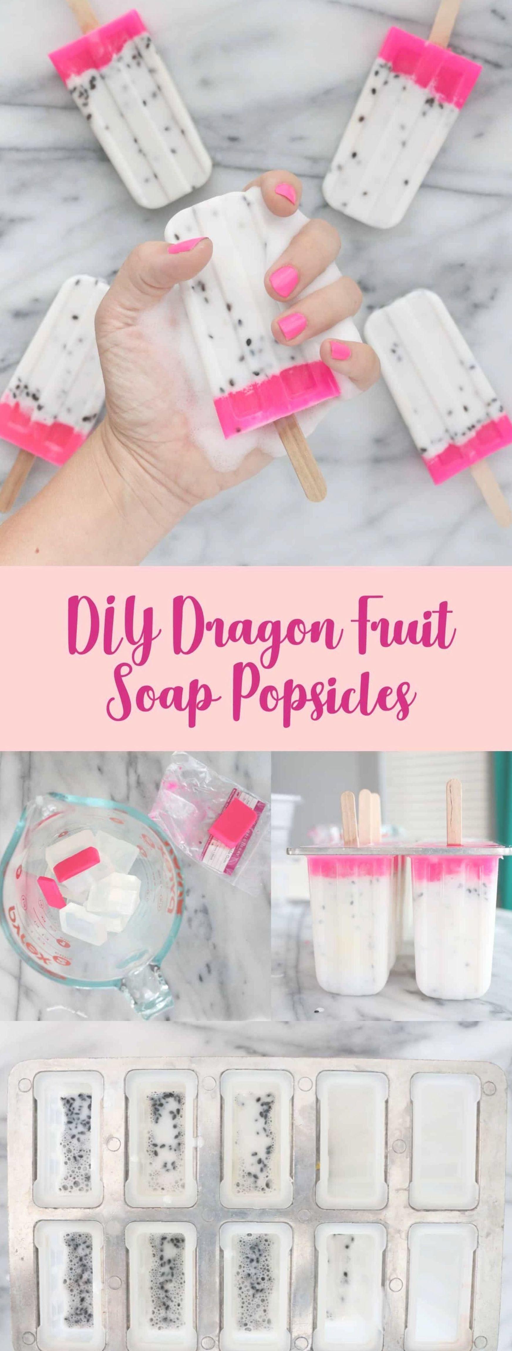 Dragon fruit soap DIY