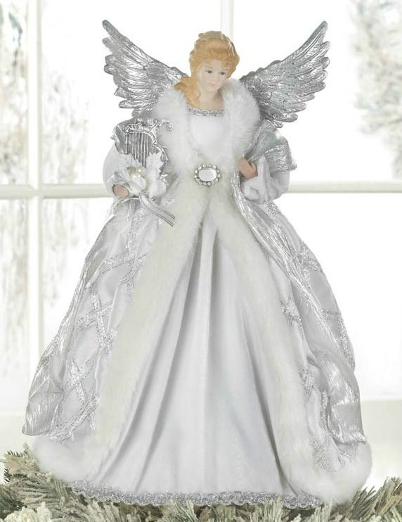 39a8d15ed7b46 Moving Angel Christmas Tree Toppers