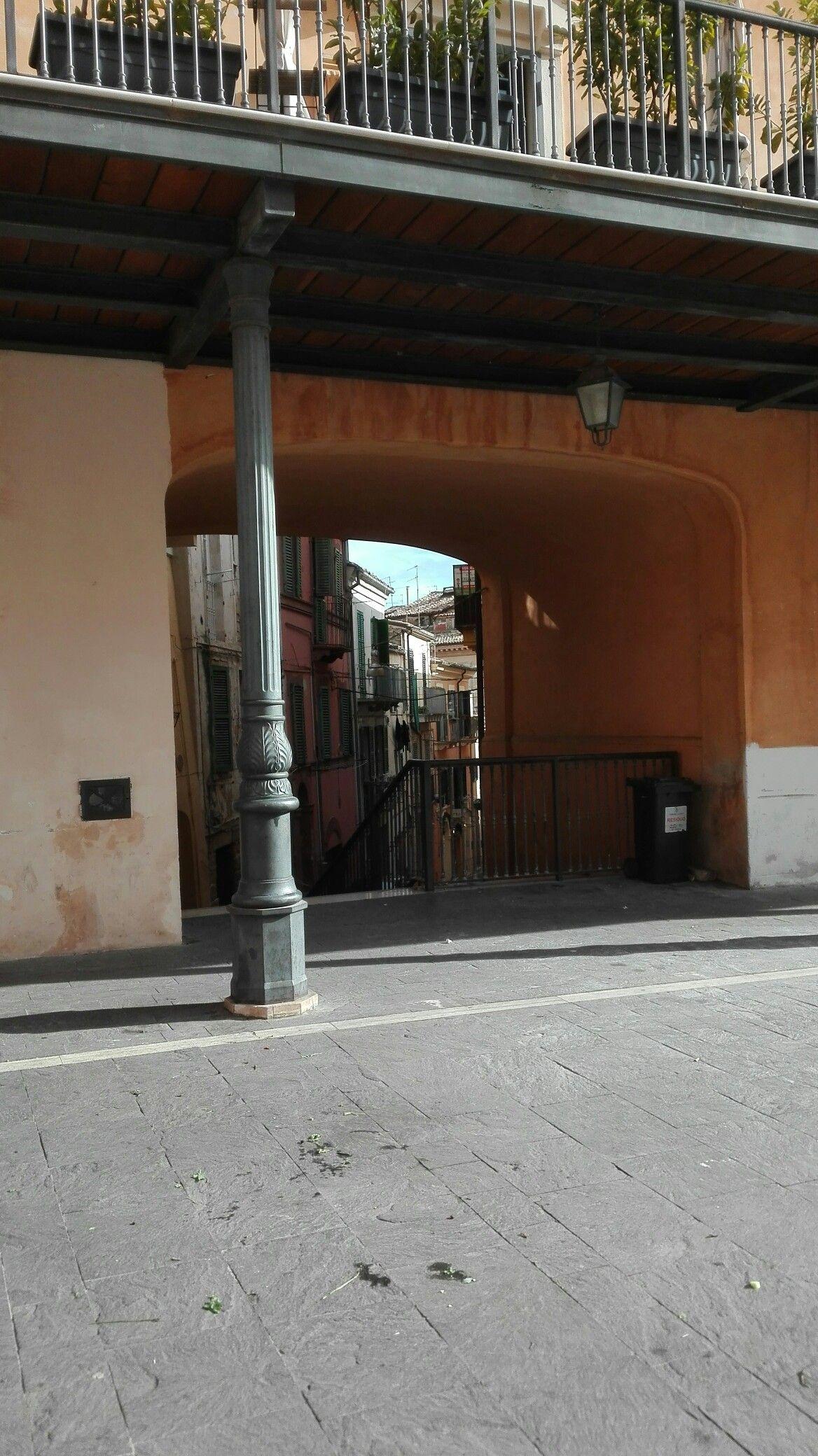 Chieti, Piazza Malta, Italy Outdoor structures, Pergola