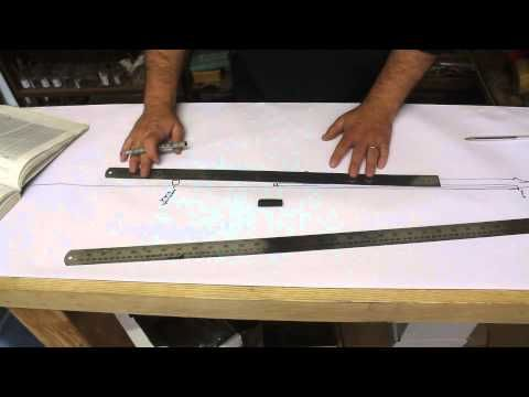 how to find the neck break angle when designing a guitar - luthiers tips 2 - YouTube