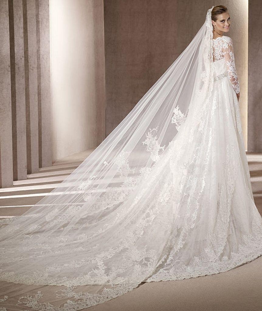 Vestidos de novia wedding dresses long train empire waist with